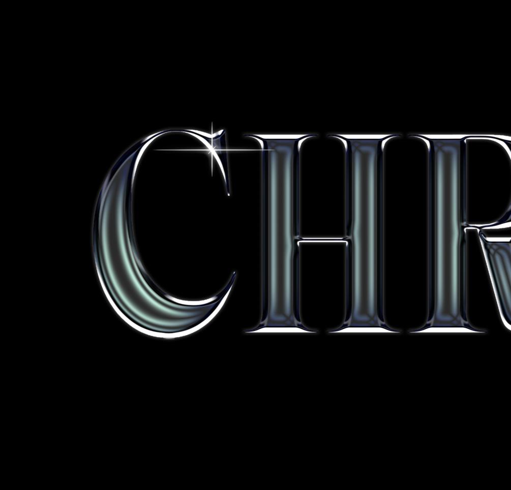 30多种独特金属发光效果立体字体PS样式 Chrome效果 Chrome Pack 1插图(4)