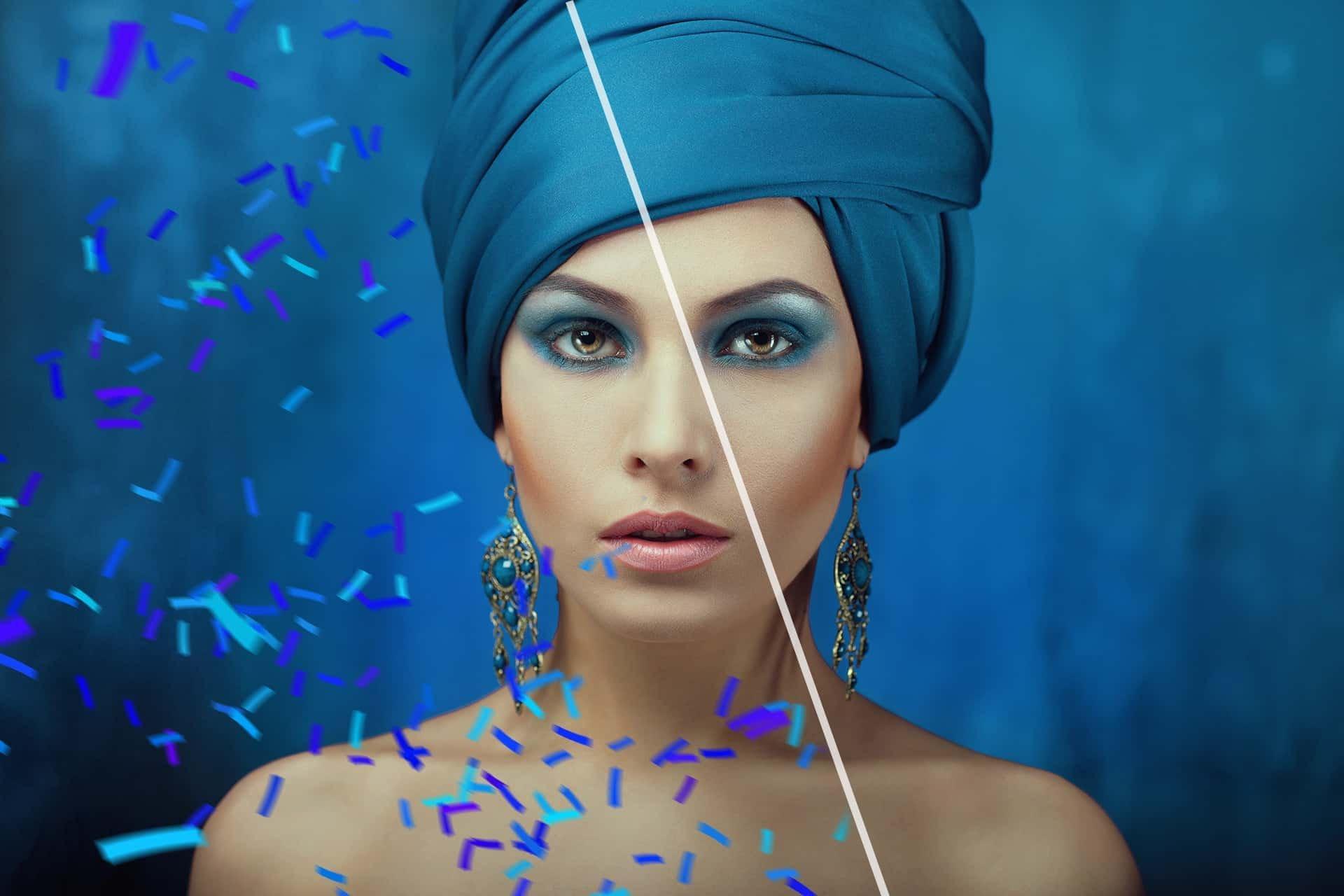 48个高清五彩纸屑照片叠加层PNG图片素材 48+ Confetti Photo Overlays插图(5)