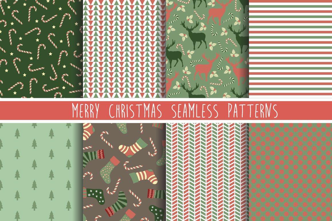 100款圣诞节主题元素矢量素材 100 Merry Christmas Elements插图(3)