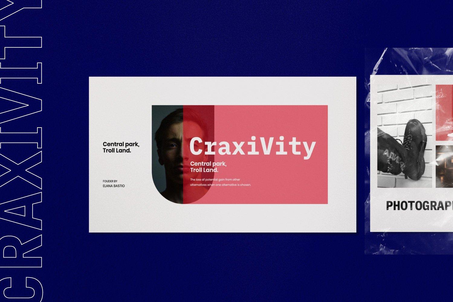 时尚潮流商业策划书幻灯片设计模板 CRAXITVIY – Powerpoint插图(2)