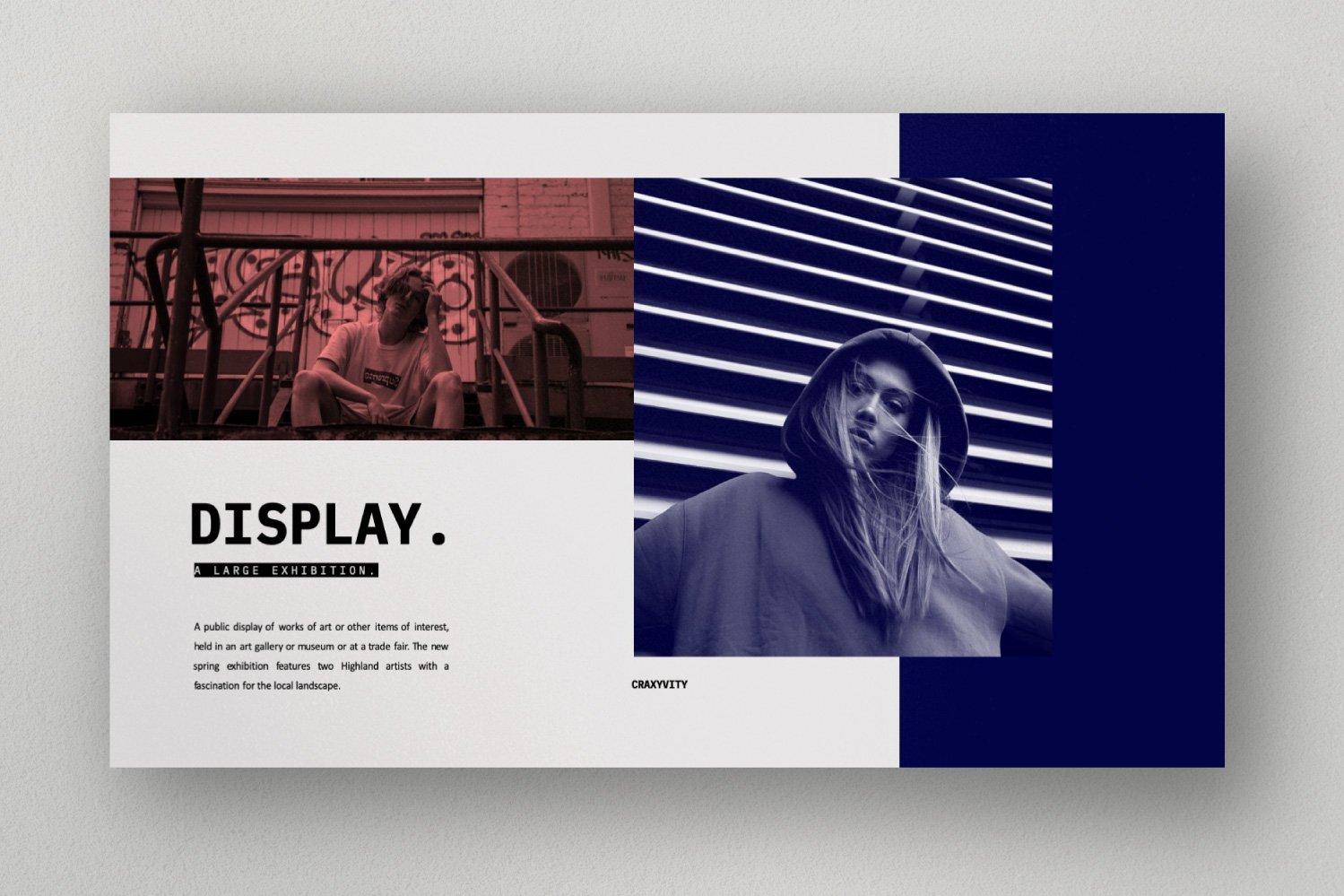时尚潮流商业策划书幻灯片设计模板 CRAXITVIY – Powerpoint插图(8)