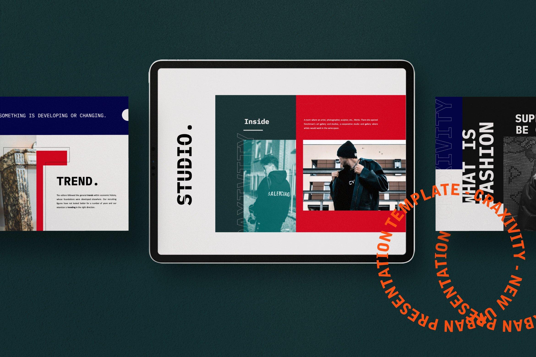 时尚潮流商业策划书幻灯片设计模板 CRAXITVIY – Powerpoint插图(10)