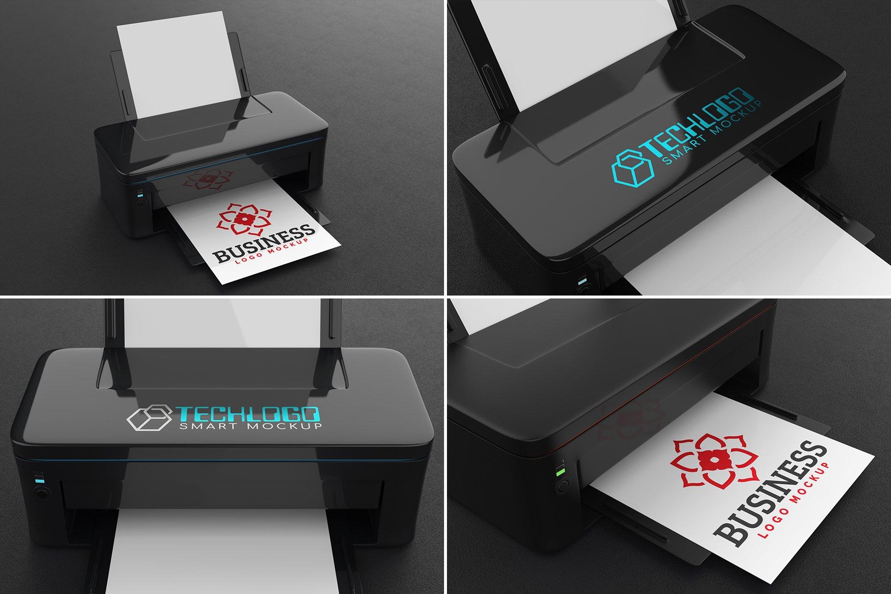 100款标志徽标设计展示PSD样机模板合集 100 Logo Mockups Bundle Vol.5插图(6)