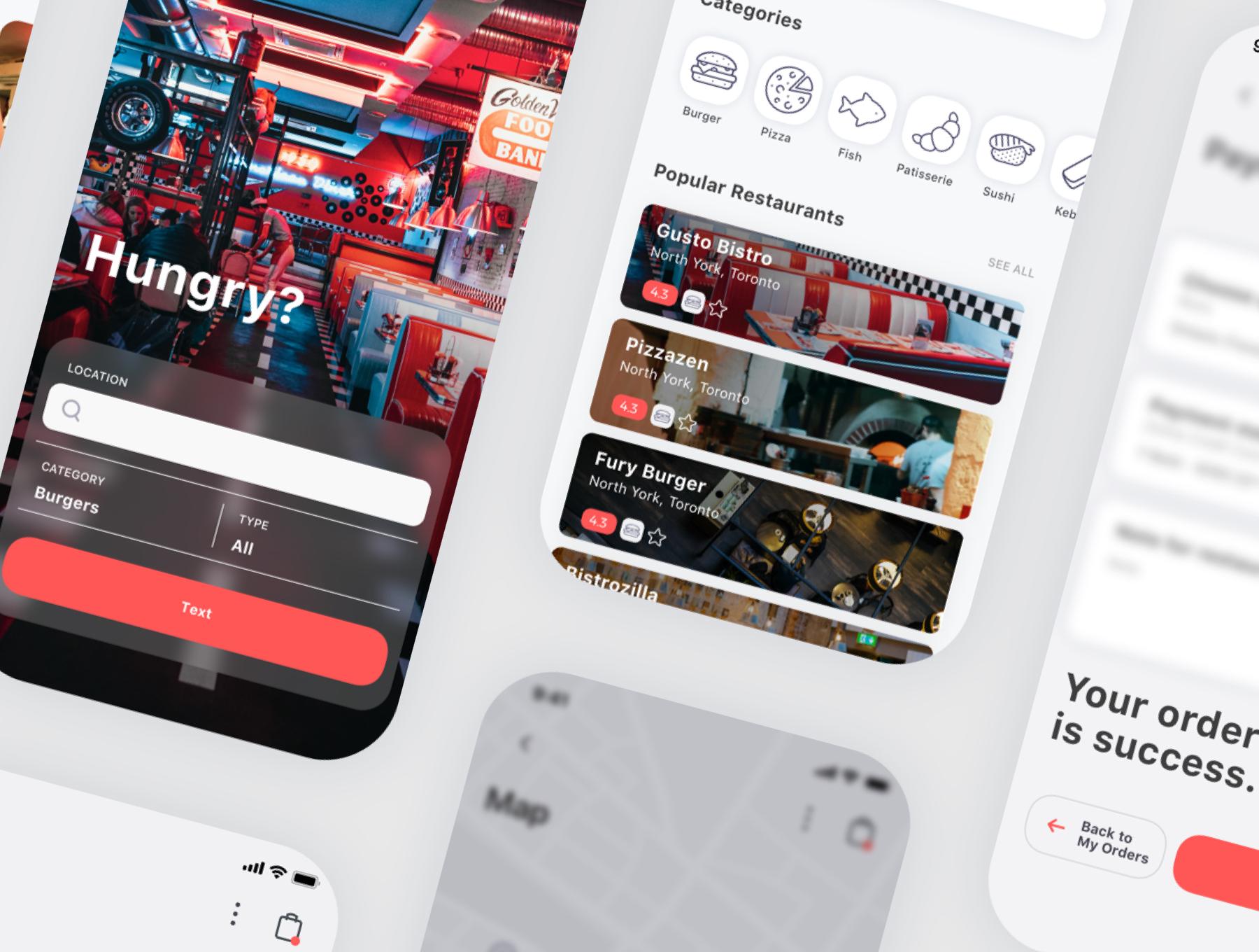 食物外卖配送应用APP设计UI套件 Spes Food Delivery App UI Kit插图(9)