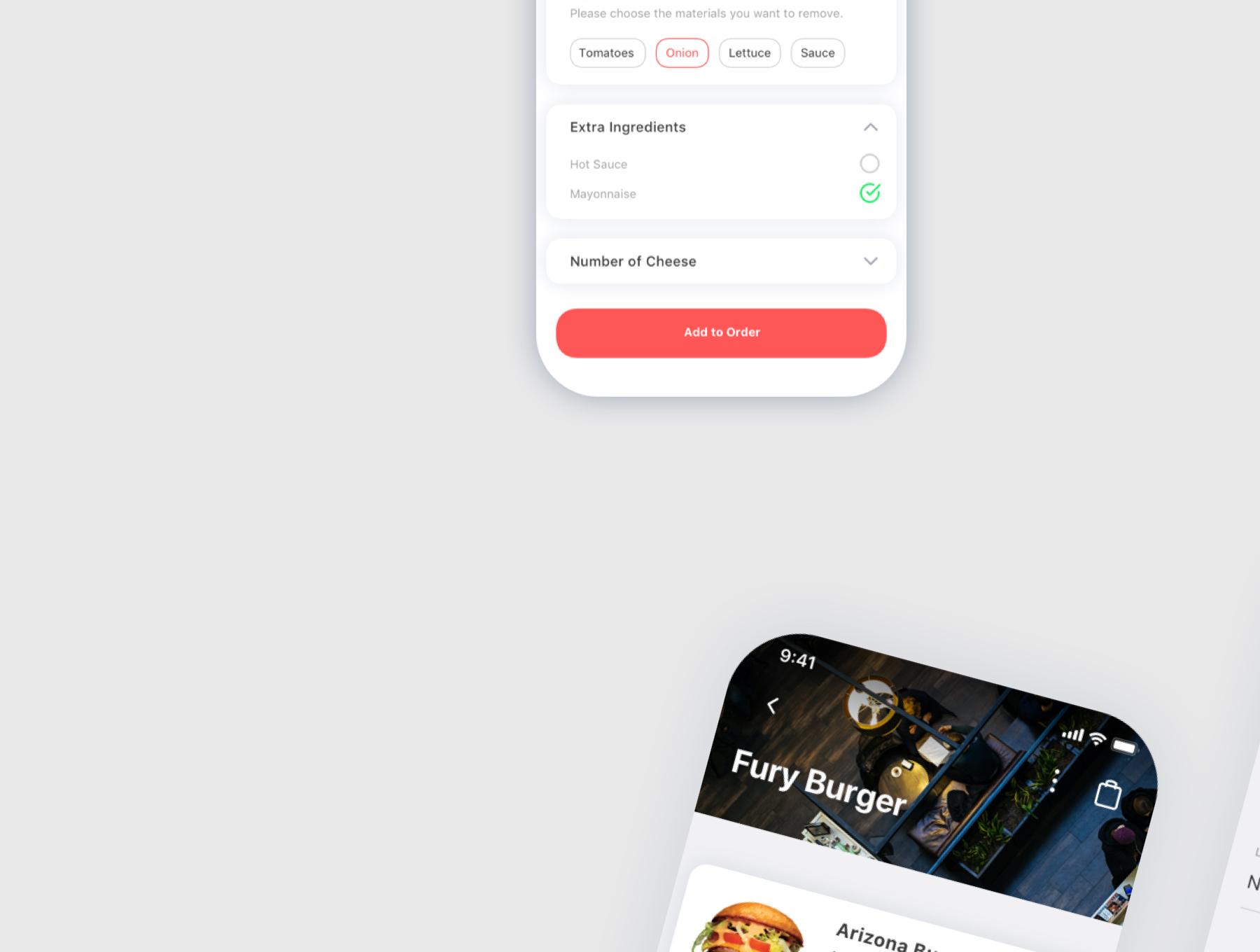 食物外卖配送应用APP设计UI套件 Spes Food Delivery App UI Kit插图(3)