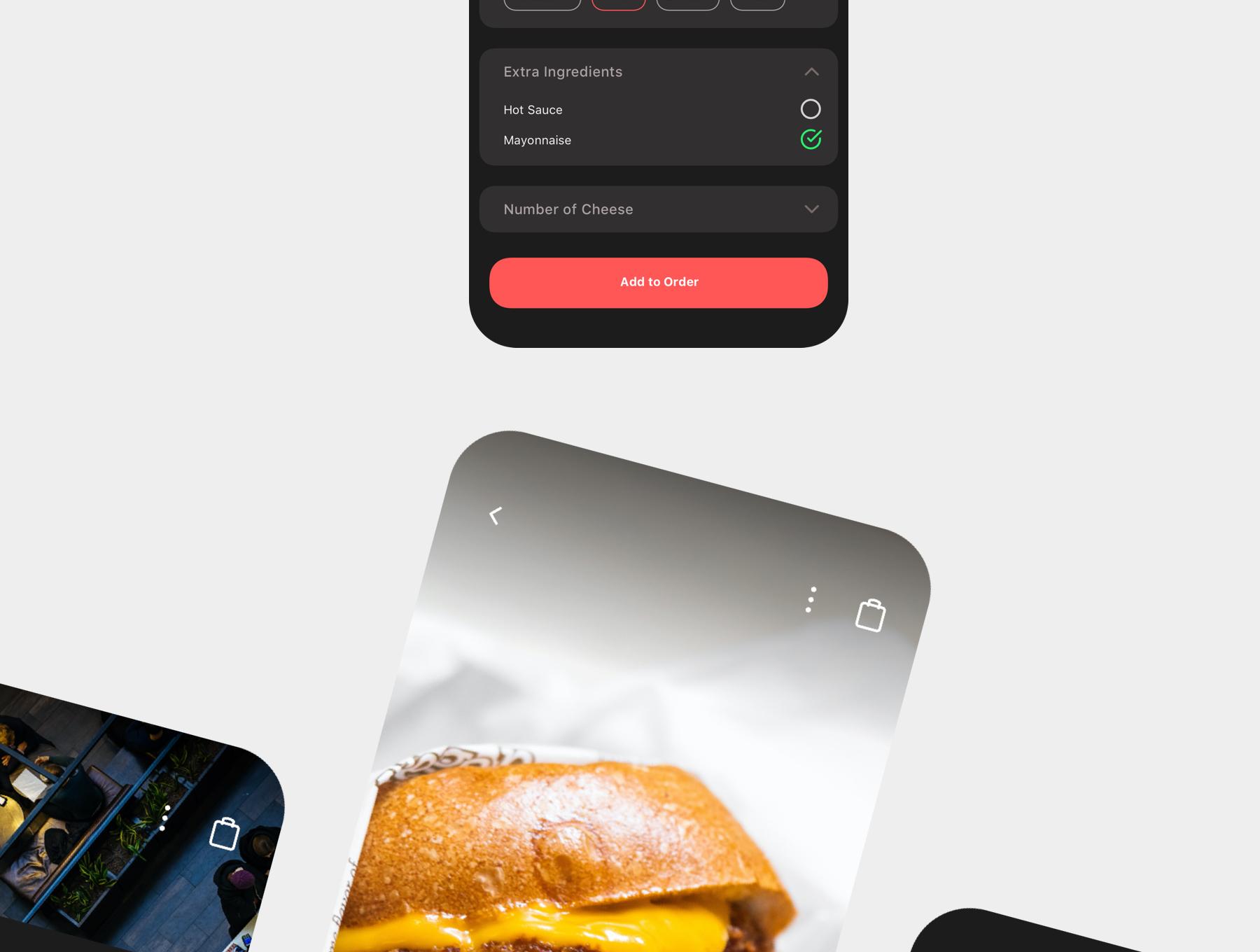 食品外卖配送服务移动应用APP界面设计UI套件 Spes Dark Food Delivery App UI Kit插图(3)