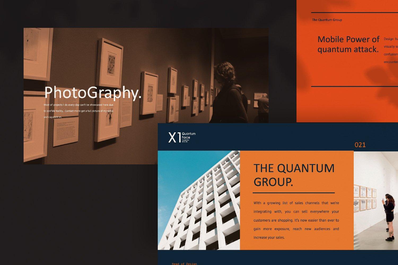 时尚创意品牌VI指南手册设计演示文稿模板 X1 – Brand Guidline Powerpoint插图(2)