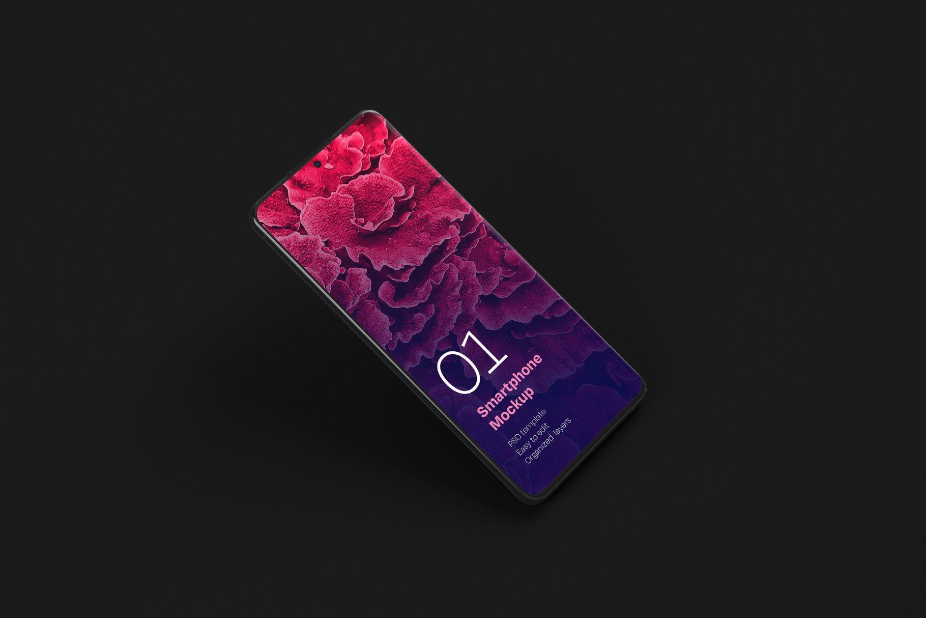16款应用APP设计三星Galaxy S20手机屏幕演示样机 Galaxy S20 Ultra Device Mockup插图(11)