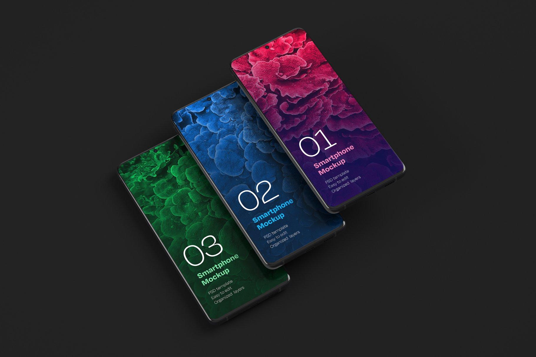16款应用APP设计三星Galaxy S20手机屏幕演示样机 Galaxy S20 Ultra Device Mockup插图(12)