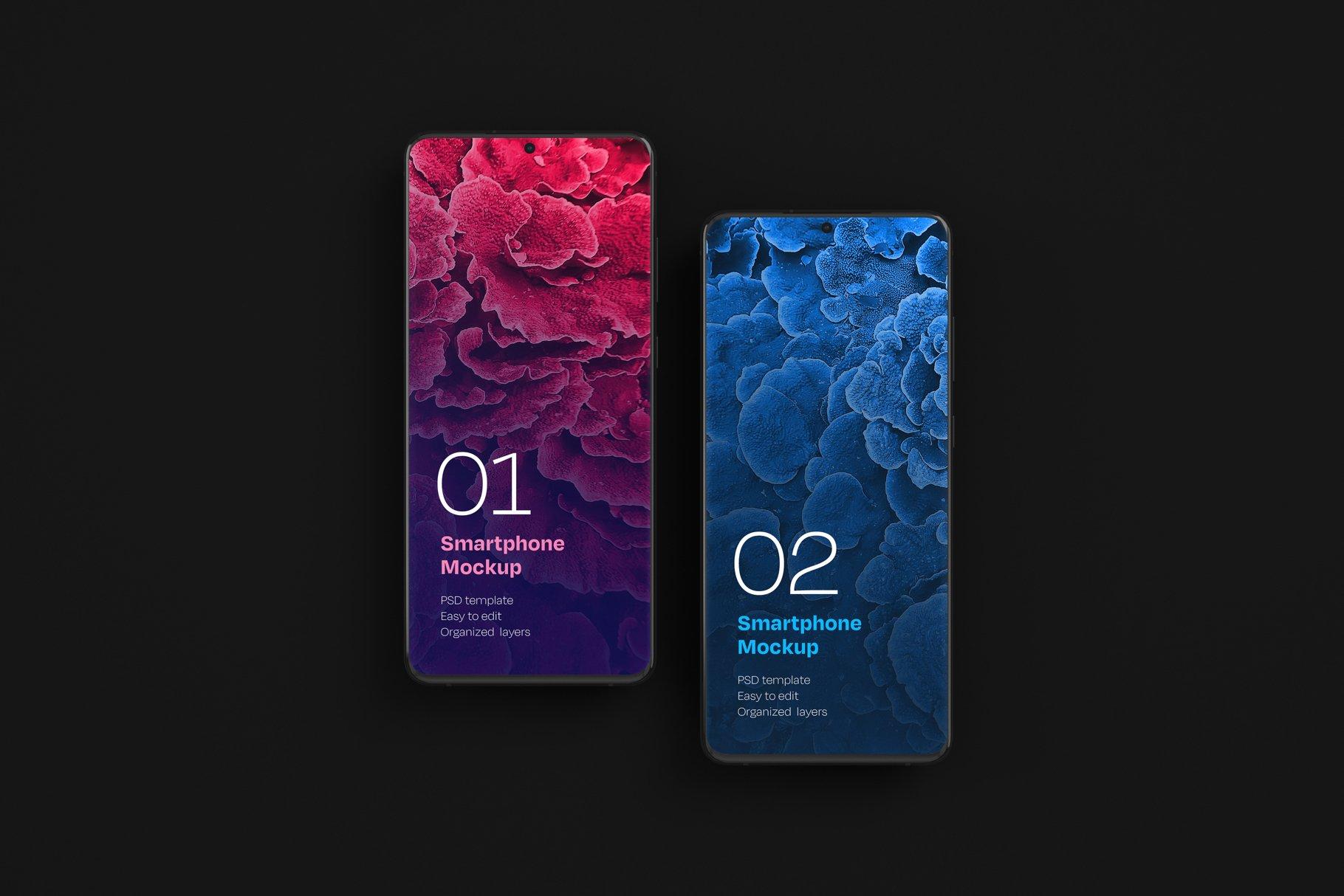 16款应用APP设计三星Galaxy S20手机屏幕演示样机 Galaxy S20 Ultra Device Mockup插图(6)