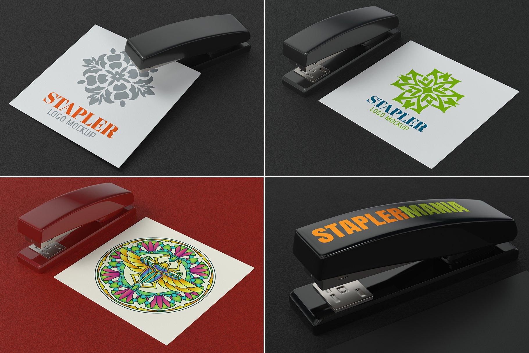 100款标志徽标设计展示PSD样机模板合集 100 Logo Mockups Bundle Vol.5插图(12)