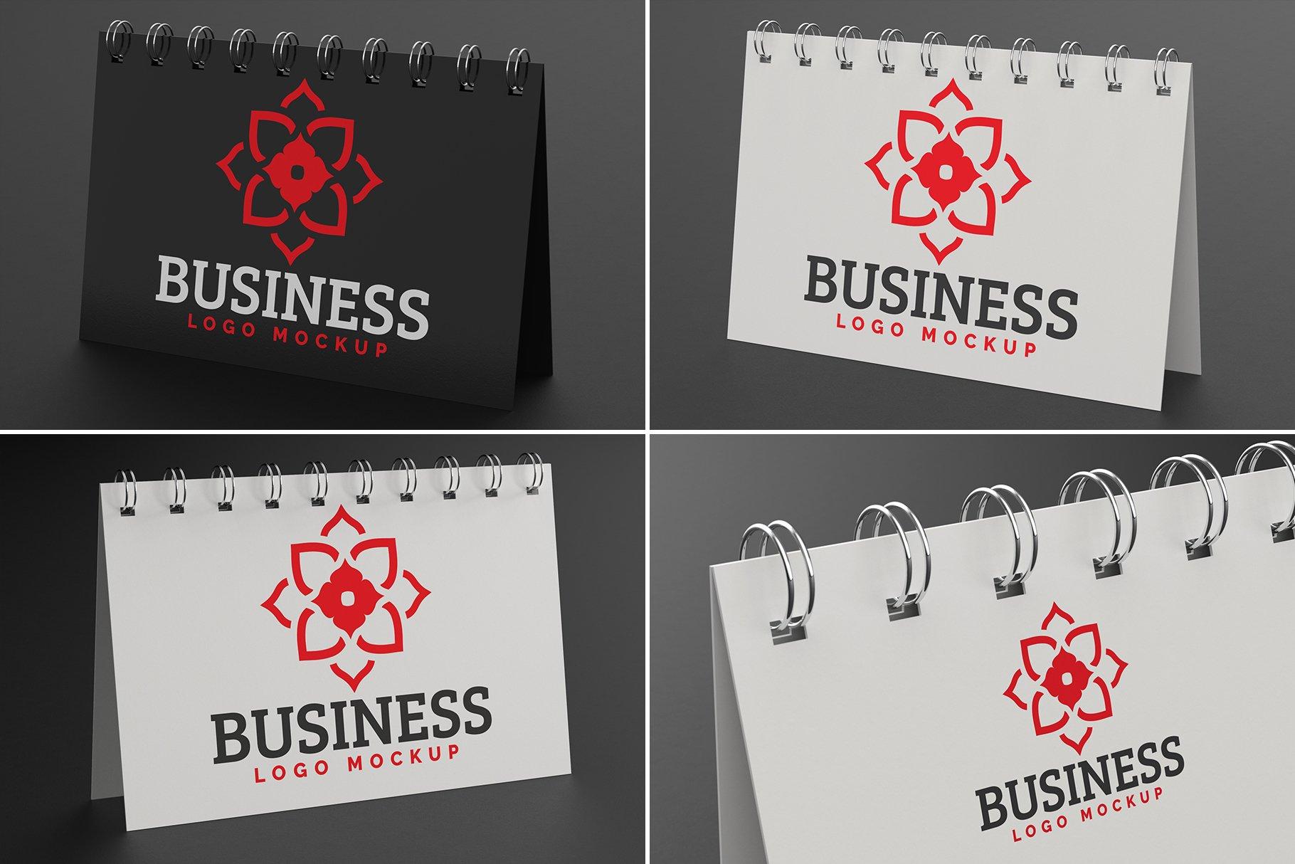 100款标志徽标设计展示PSD样机模板合集 100 Logo Mockups Bundle Vol.5插图(13)