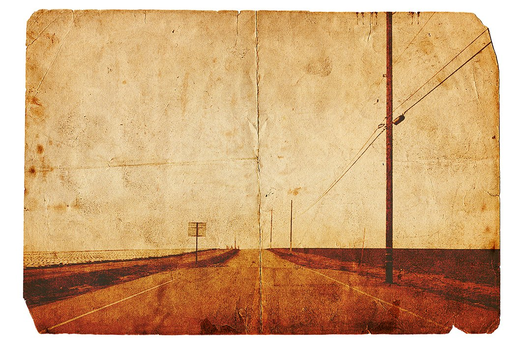高清复古老式泛黄照片效果旧纸纹理PS叠加层素材 Vintage Photo Effects插图(1)