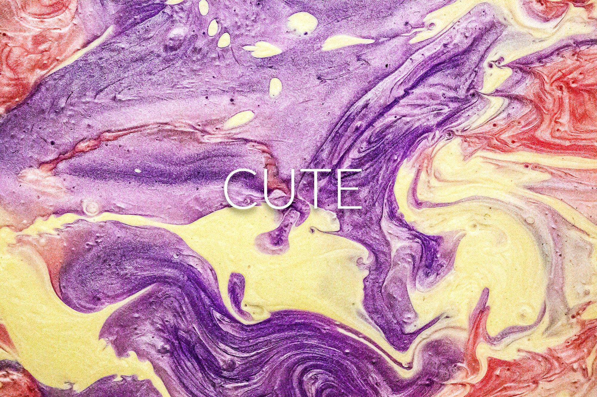 14款高清抽象流体丙烯酸涂料背景纹理图片素材 Liquid Paint – Cute Textures插图