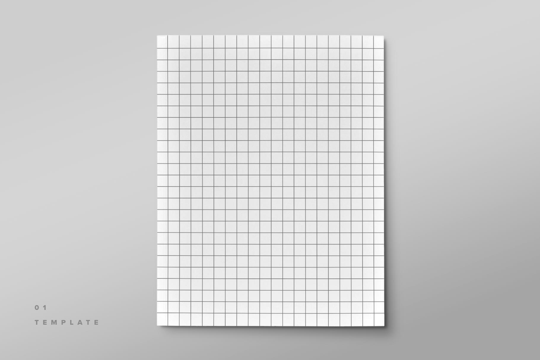 精美杂志画册设计展示样机模板 Magazine Cover Mockup Set插图(6)