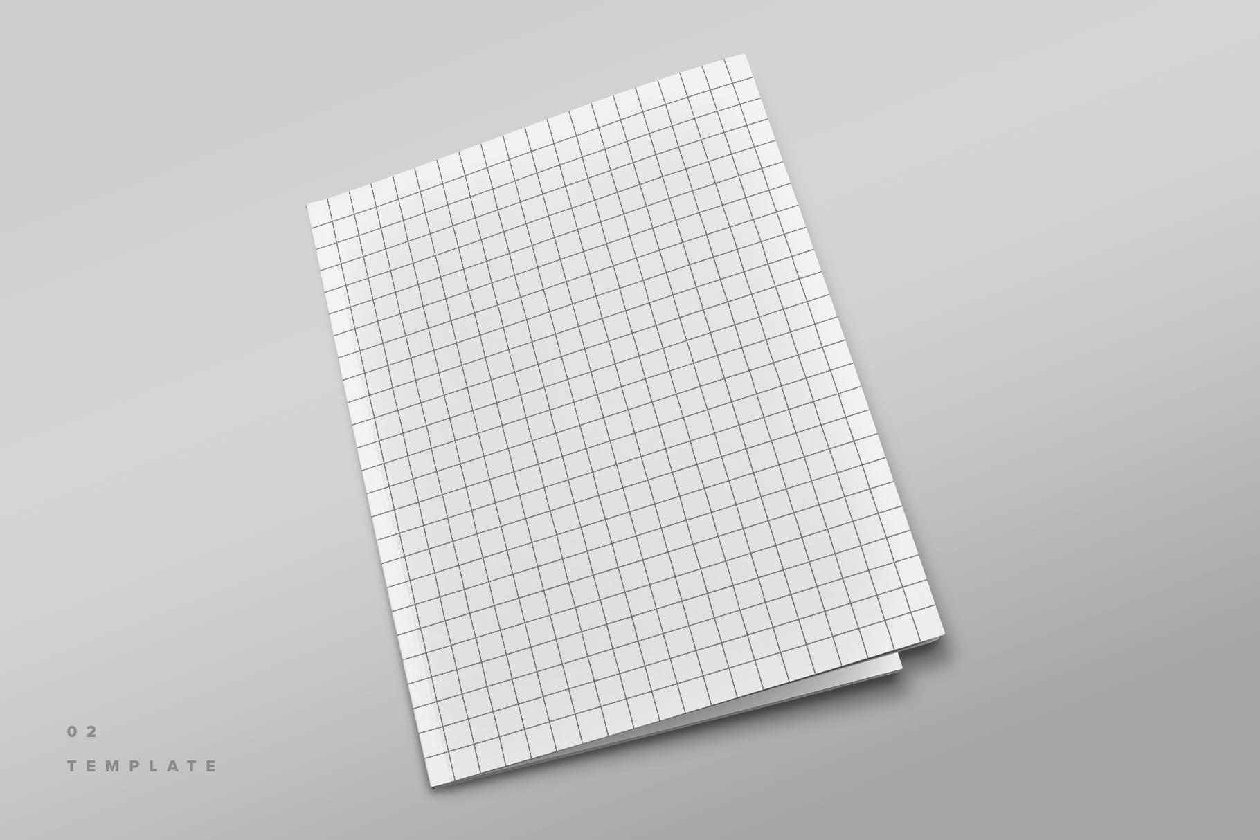精美杂志画册设计展示样机模板 Magazine Cover Mockup Set插图(7)