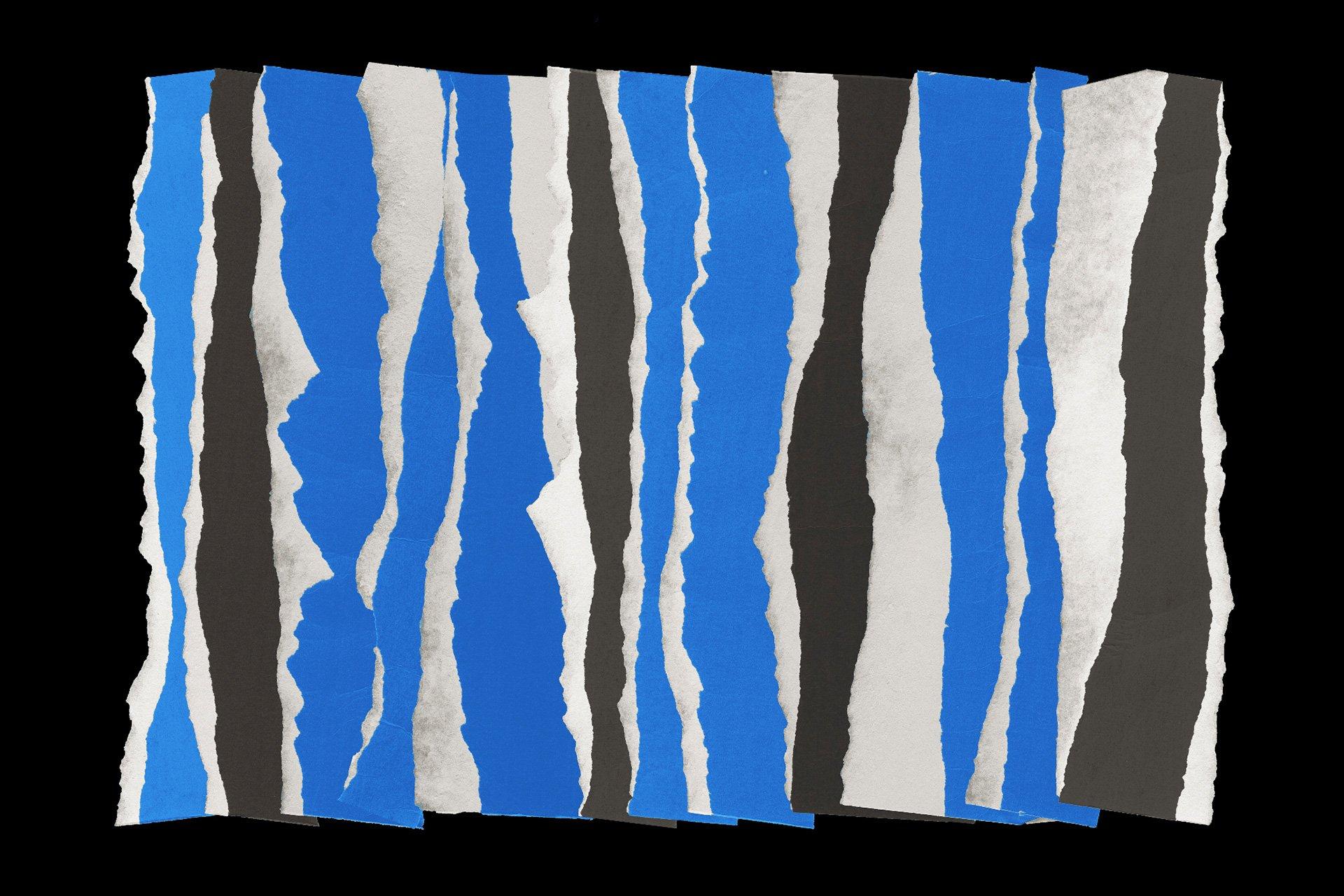 40款复古做旧纸张撕纸破损边缘样机纹理PNG设计素材套装 Torn Paper Textures插图(6)
