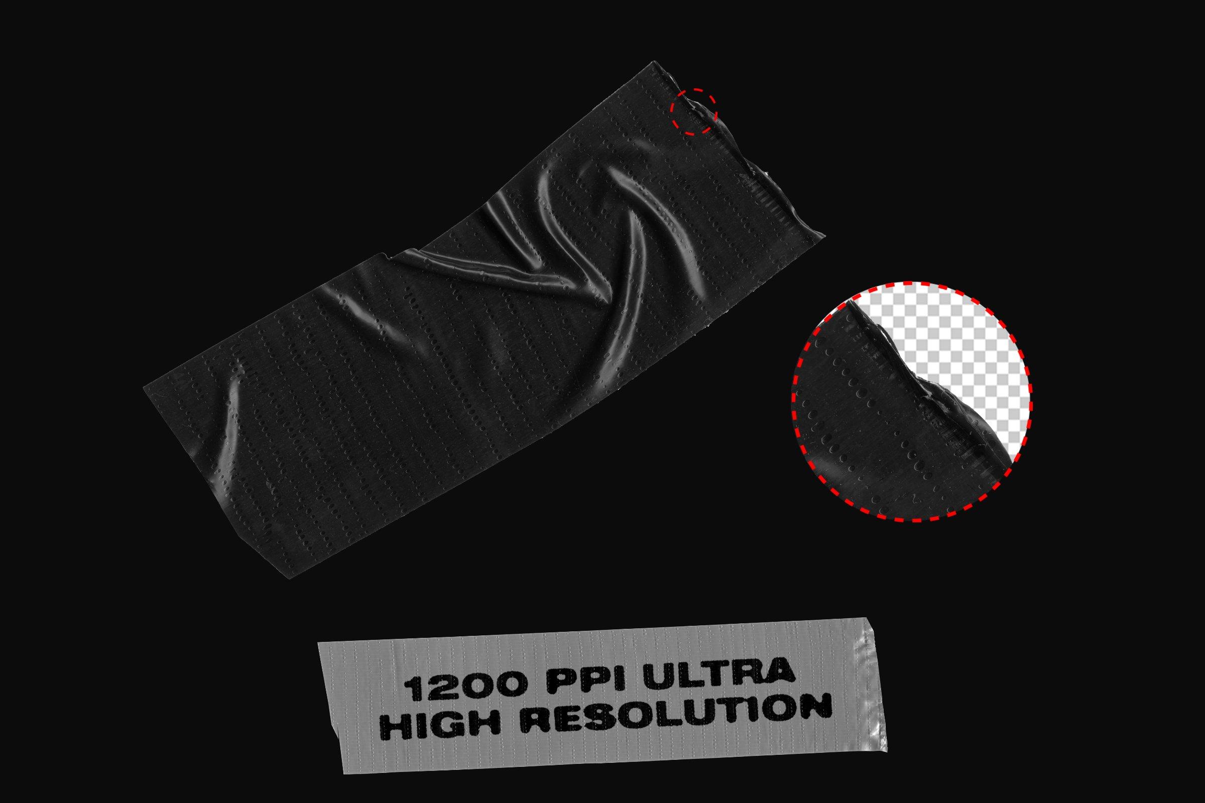 75款高清多种胶带贴纸背景纹理PNG图片素材 Tape Pieces – 75+ Transparent PNGs插图(1)