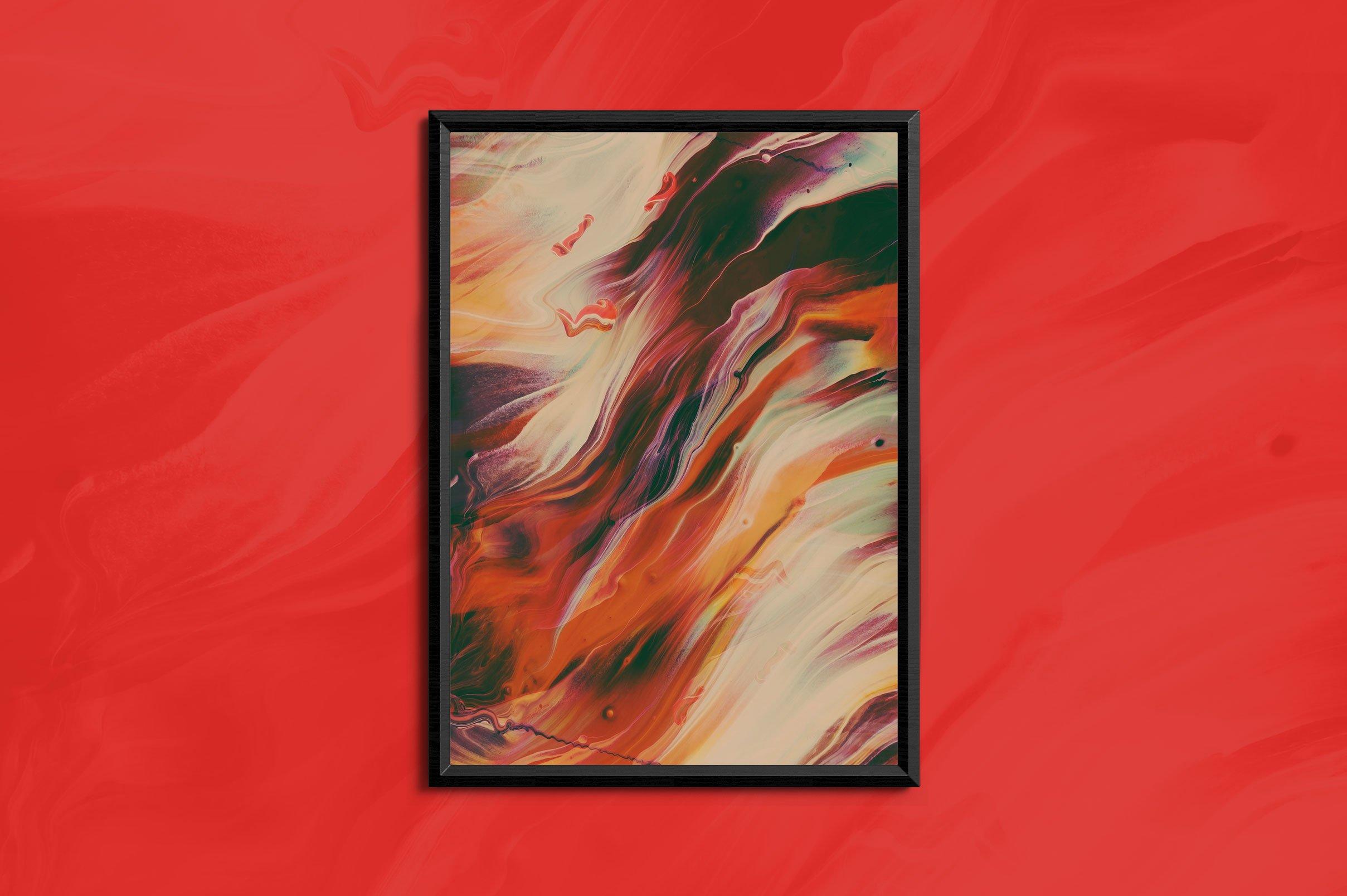 32款高清抽象丙烯酸绘画颜料背景纹理图片素材 Abstract Paint Remix Vol. 1插图(3)