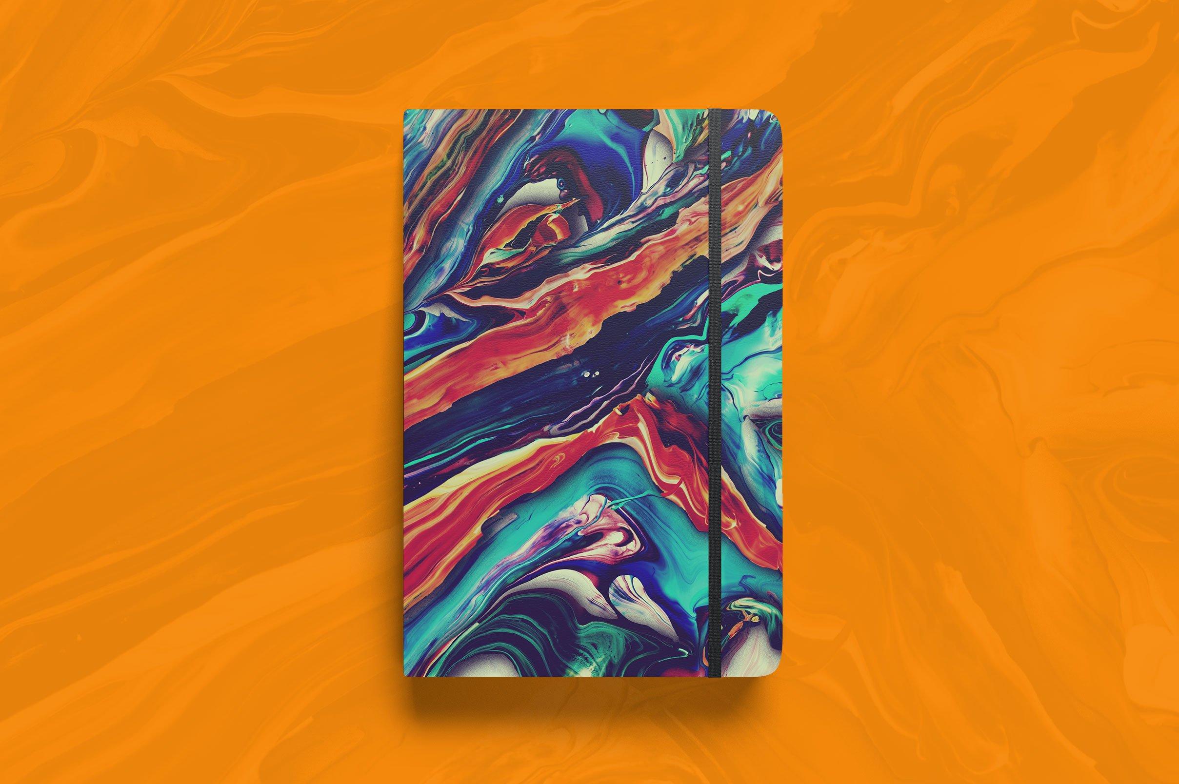 32款高清抽象丙烯酸绘画颜料背景纹理图片素材 Abstract Paint Remix Vol. 1插图(5)