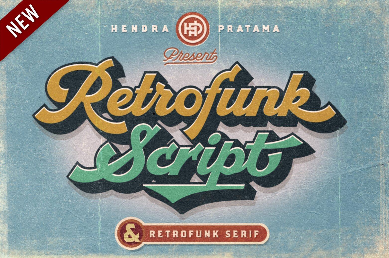 六七十年代复古凹凸挤压英文字体下载 Groovy Font Script插图12