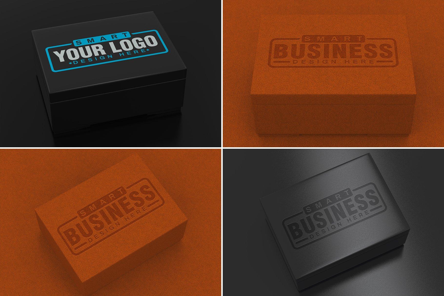 100款标志徽标设计展示PSD样机模板合集 100 Logo Mockups Bundle Vol.5插图(23)