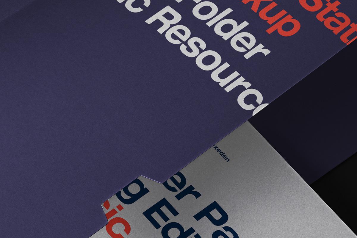品牌VI设计办公用品展示样机模板 Business Psd Stationery Mockup Set 2插图(1)