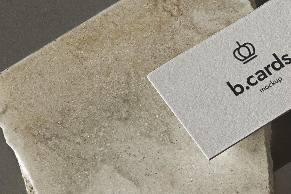 精美办公商务名片设计展示样机 Psd Business Card Mockup Showcase插图(2)