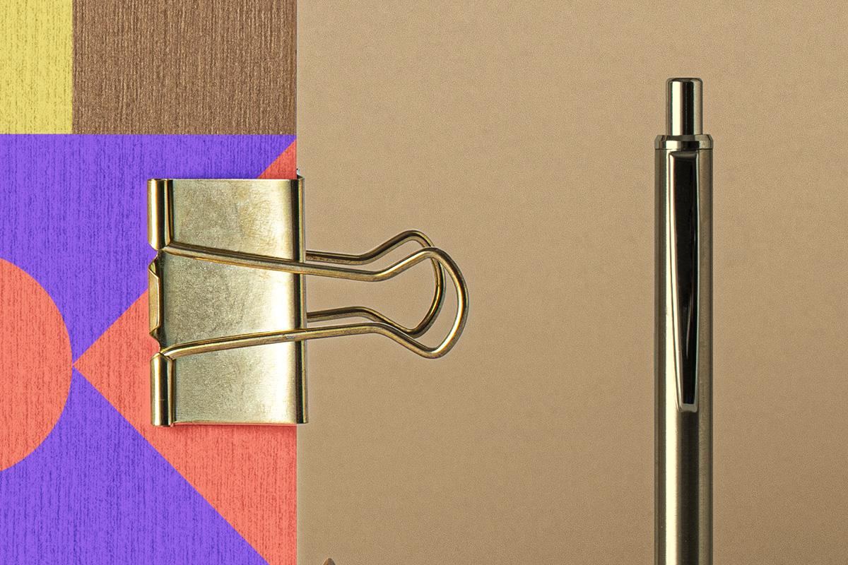 优雅牛皮纸笔记本设计展示PSD样机合集 Psd Kraft Notebook Set Mockup插图(3)