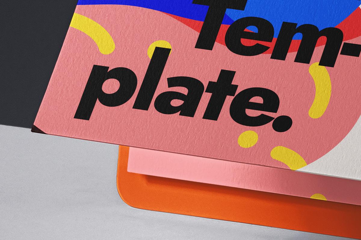 办公用品剪贴板样机模板 Paper Psd Clipboard Mockup插图(3)