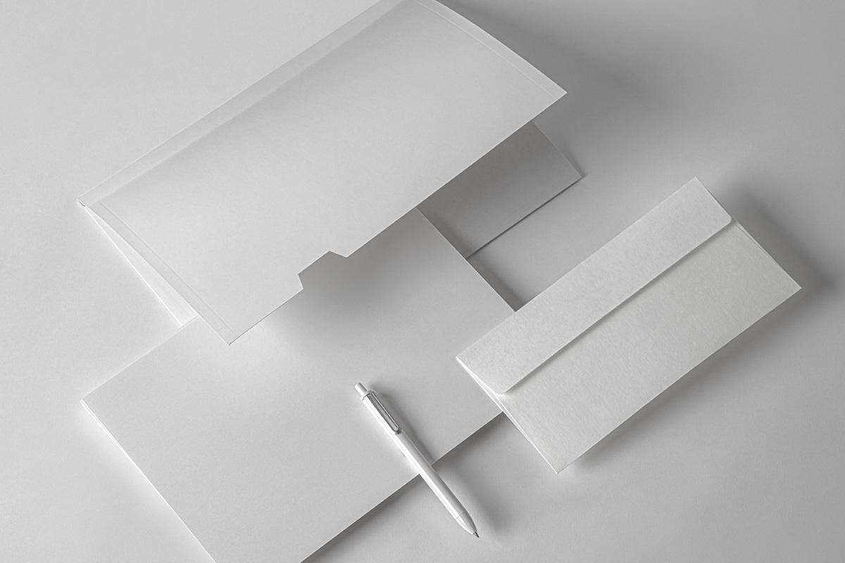 品牌VI设计办公用品展示样机模板 Business Psd Stationery Mockup Set 2插图(5)