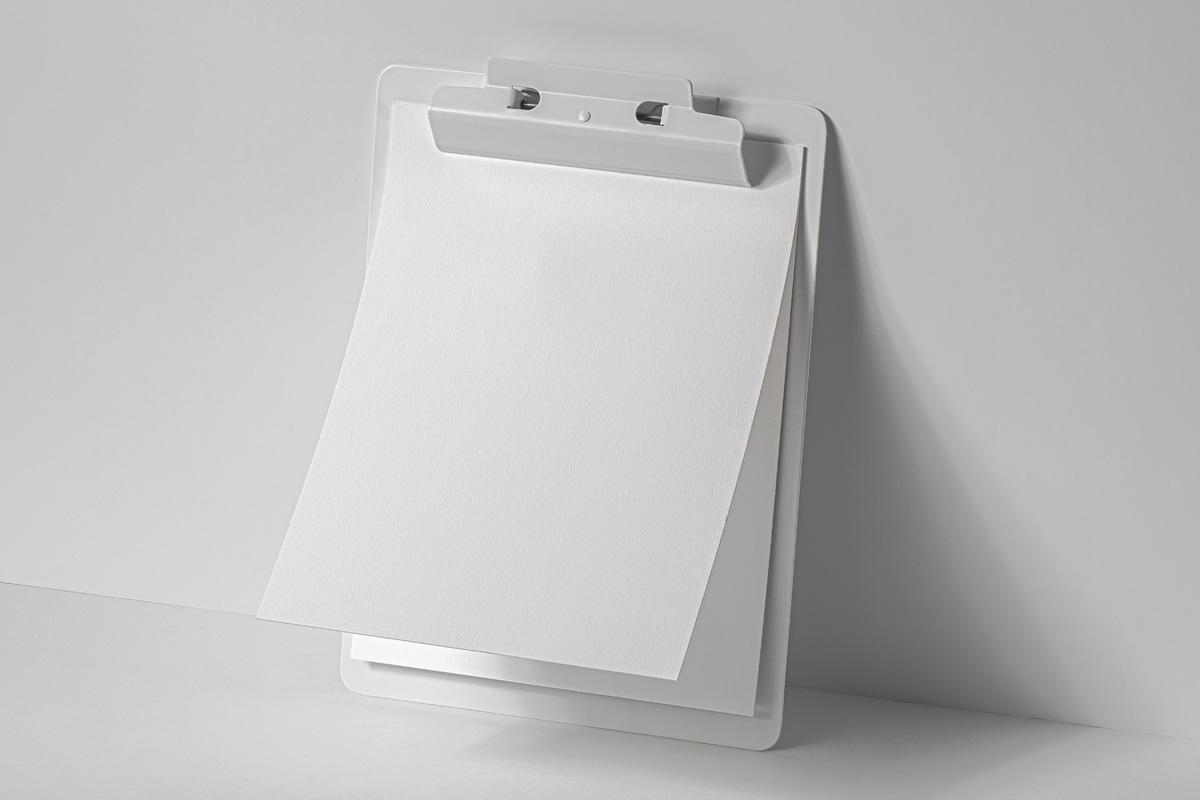 办公用品剪贴板样机模板 Paper Psd Clipboard Mockup插图(5)