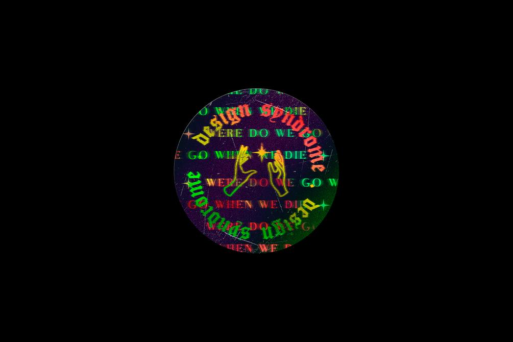 [淘宝购买 ] 潮流全息渐变镭射贴纸生成PSD样机模板 Holographic Sticker Generator插图(2)