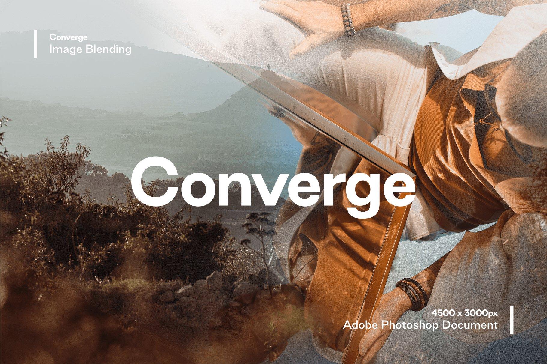 [淘宝购买] 多种曝光融合烟雾混合效果照片处理PS图层样式 Converge – Image Blending插图