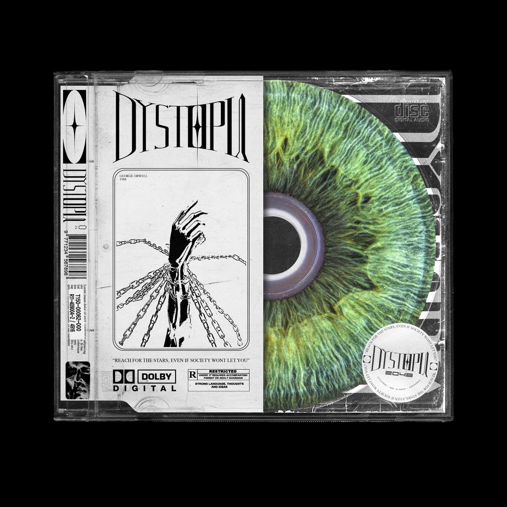 潮流复古CD光盘塑料包装盒设计展示样机合集 Ultimate CD Case Mockup Pack插图