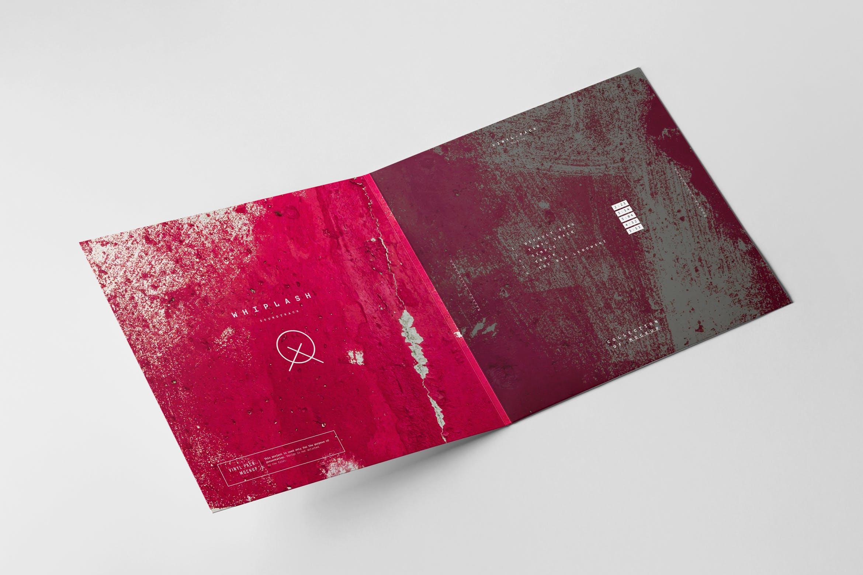 12款逼真黑胶片唱片纸袋设计展示样机 Vinyl Mockup 2插图