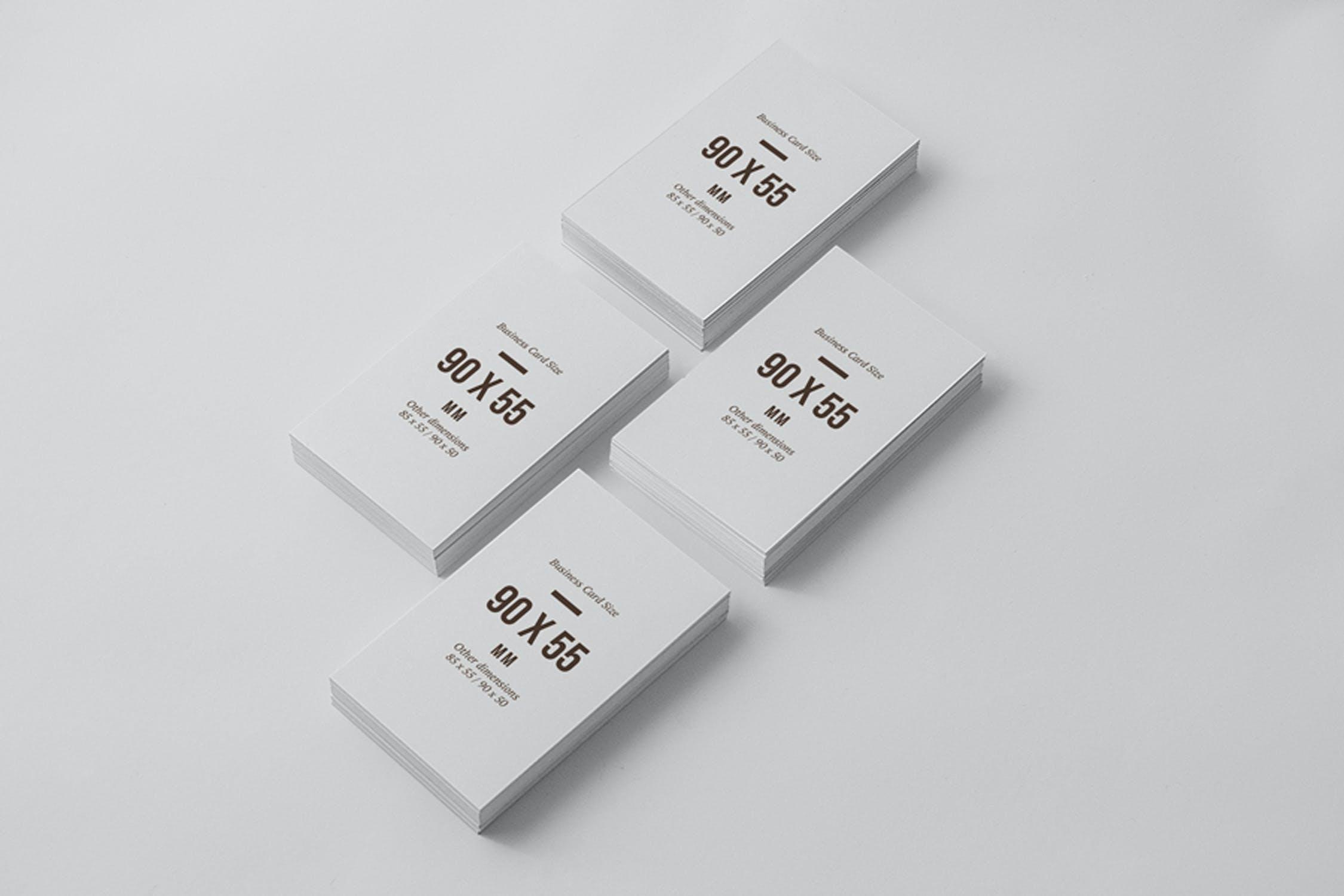 6款多角度品牌VI设计办公用品展示样机模板 Multi-Dimension Branding Dentity Mockup 4插图