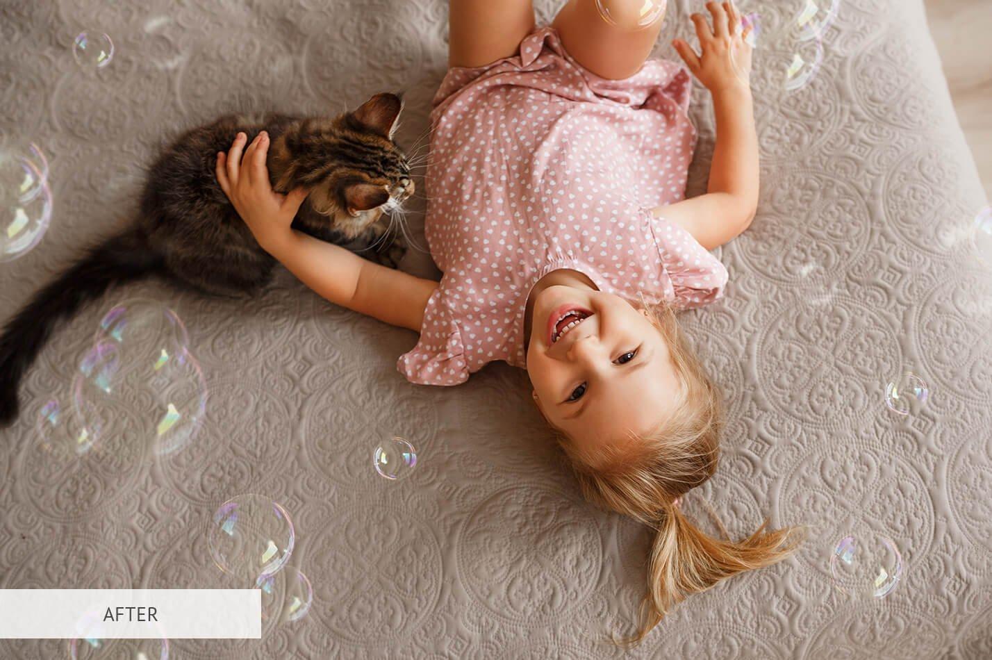 20个高清气泡PS图层叠加背景图片素材 Bubbles Overlays Photoshop插图(19)