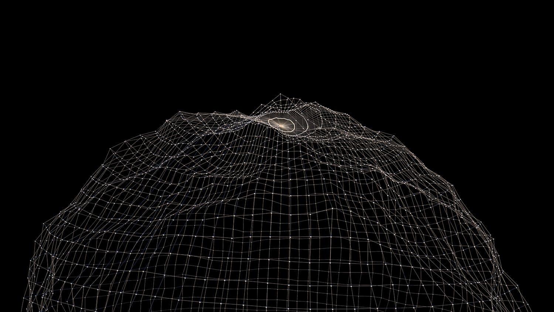 12款高清抽象几何数据网络图形论坛峰会背景图片素材 Geometric Network Collection插图(9)