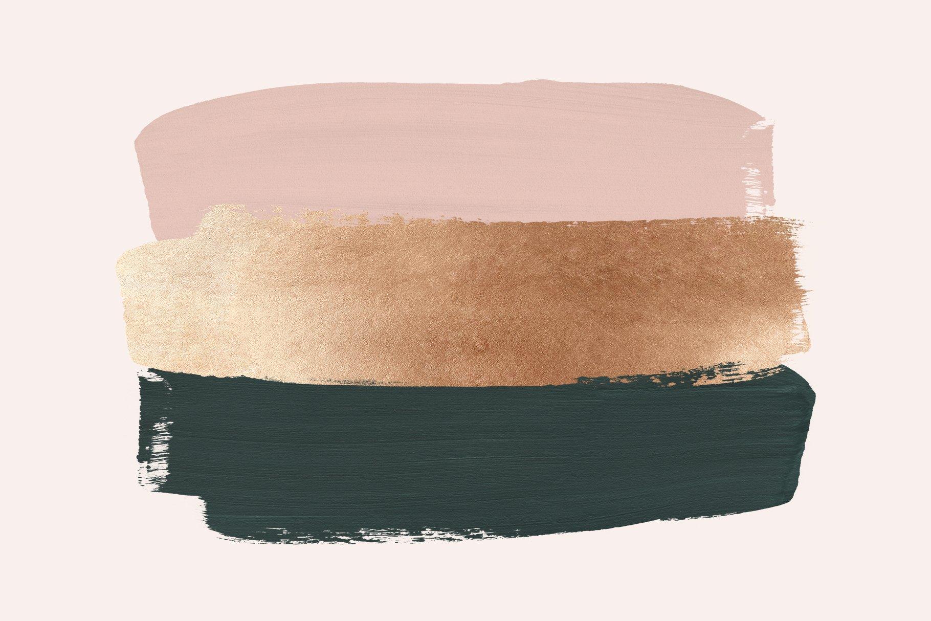 [淘宝购买] 时尚优雅抽象多彩丙烯酸颜料笔刷肌理背景PNG图片素材 Painterly Shapes & Backgrounds插图(9)