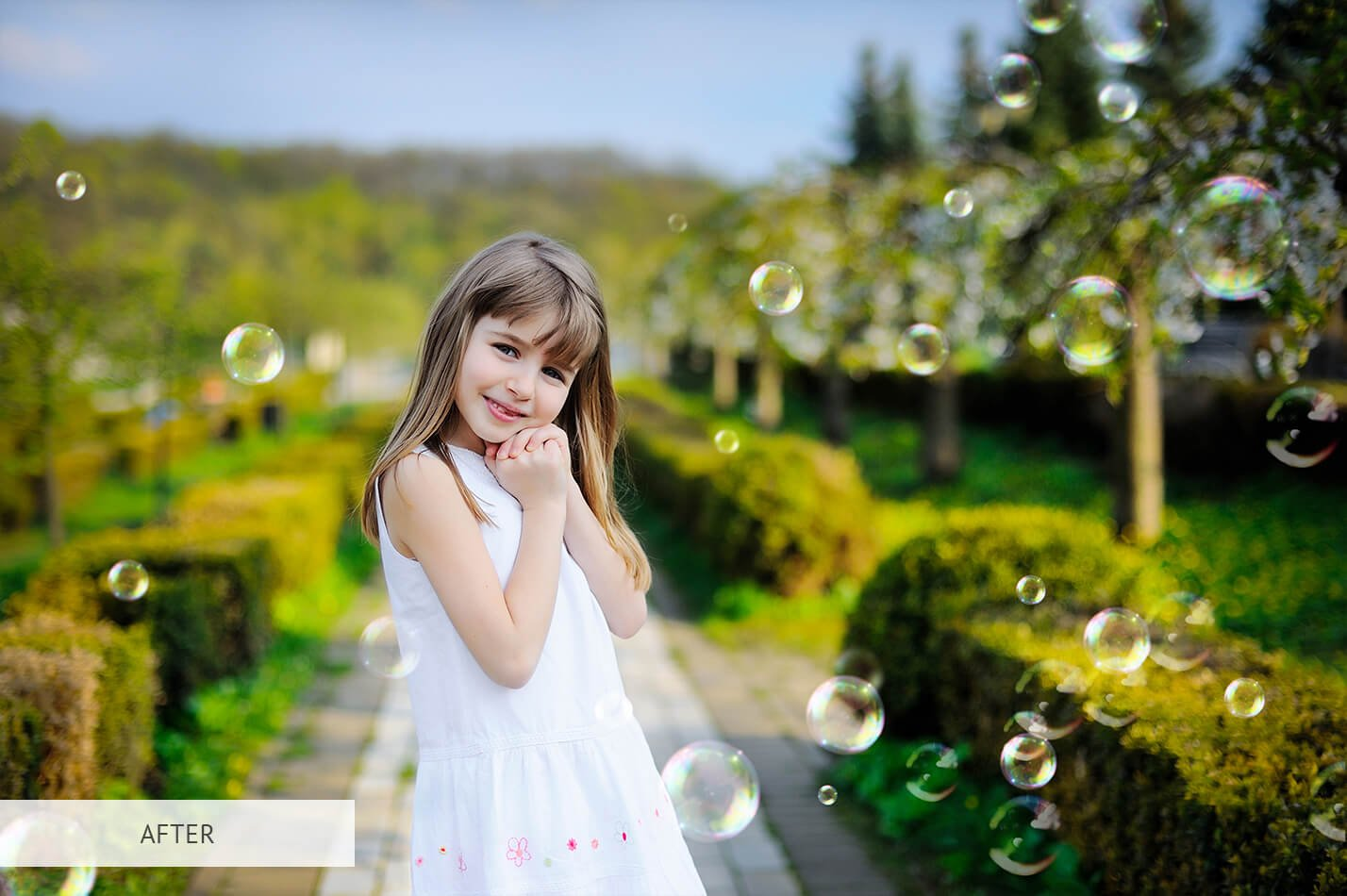 20个高清气泡PS图层叠加背景图片素材 Bubbles Overlays Photoshop插图(21)