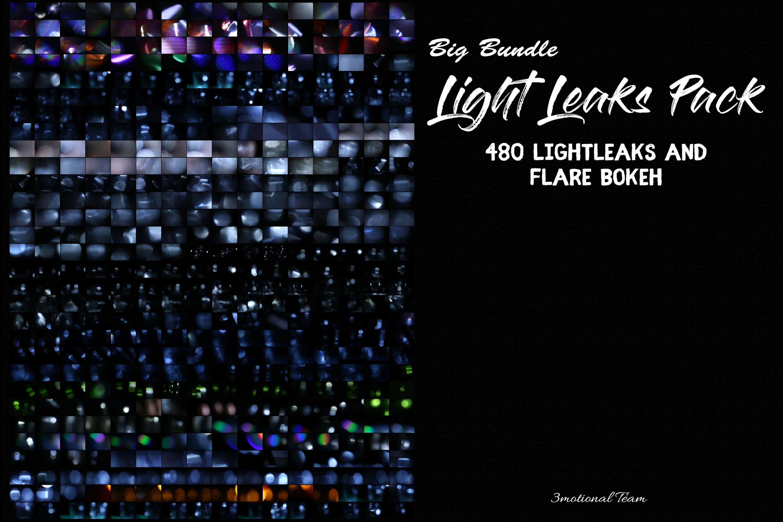 480款高清七彩漏光PS叠加图片素材 480 Arc Colorful Lightleak Bundle插图(9)