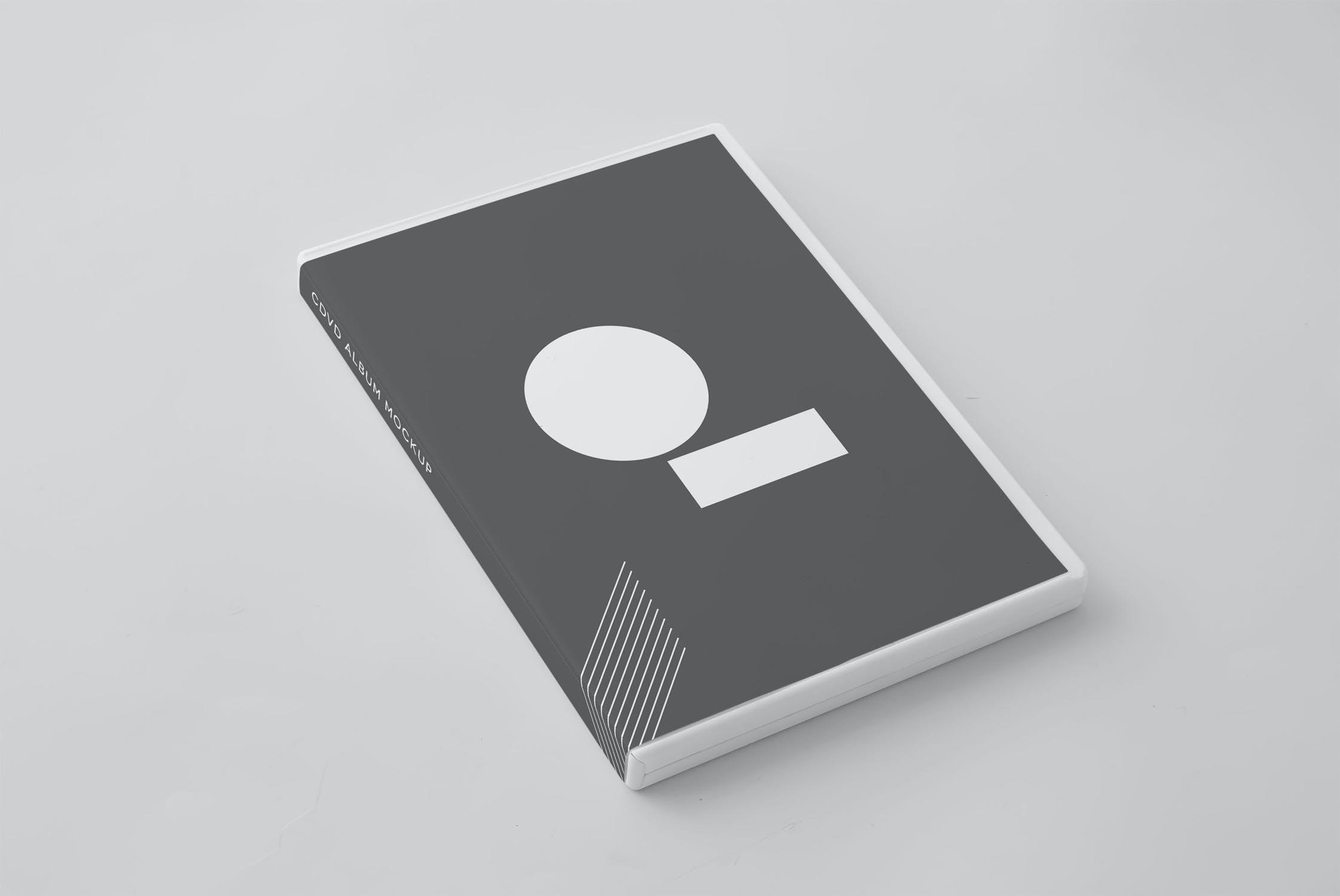11款逼真CD/DVD包装盒设计展示样机模板 CD/DVD Album Mockup插图(10)