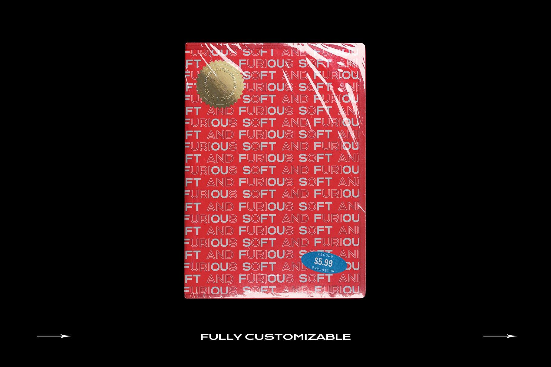 [淘宝购买] 60个DVD光盘包装盒塑料袋塑料膜贴纸样机PS设计素材 DVD Case Mockup Template Bundle Disc插图(12)