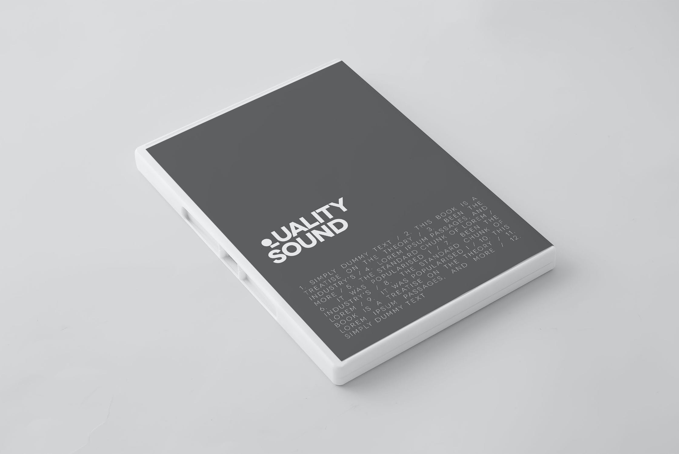 11款逼真CD/DVD包装盒设计展示样机模板 CD/DVD Album Mockup插图(11)