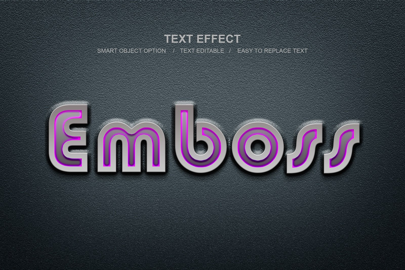 30款故障金属3D立体标题字体设计PS样式模板素材 Photoshop Layer Style Bundle插图(3)