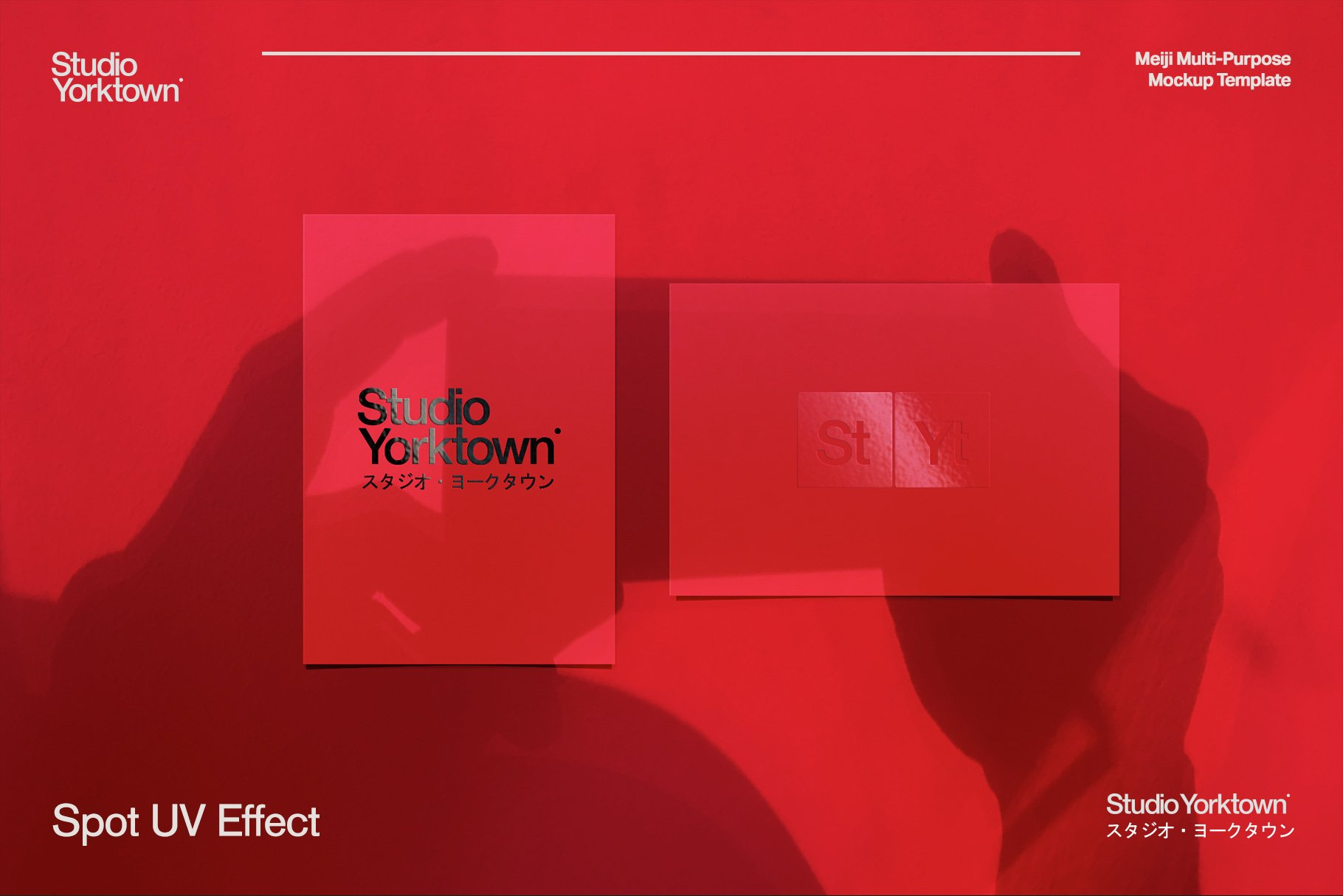 [淘宝购买] 潮流多功能压印铝箔虹彩效果办公用品场景样机套件 Meiji Multi Effect Mockup Template插图(15)