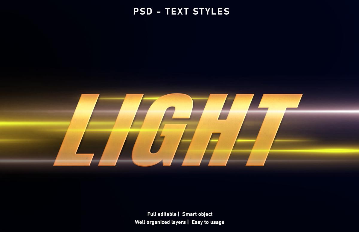11款立体字效果徽标标题设计PS样式模板 Text Effect Mockup插图(4)