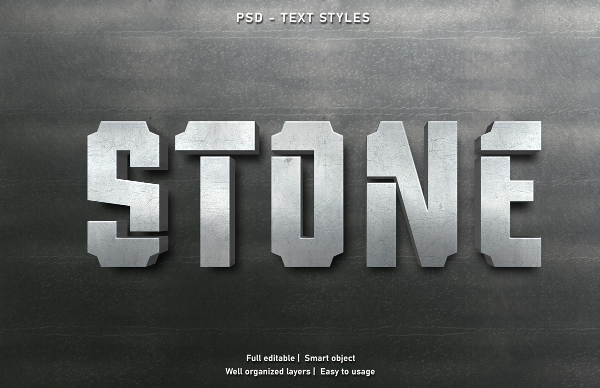 11款立体字效果徽标标题设计PS样式模板 Text Effect Mockup插图(6)