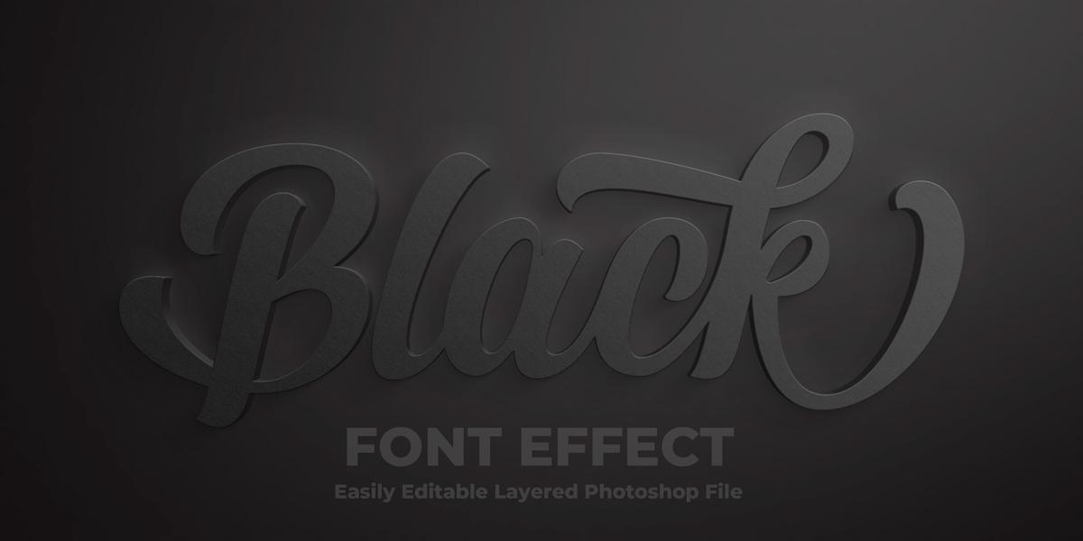 11款立体字效果徽标标题设计PS样式模板 Text Effect Mockup插图(7)